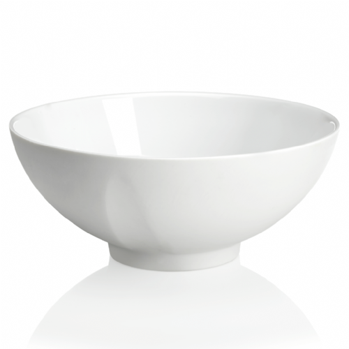 Degrenne Paris 'L'Econome by Starck' White Turnip Round Bowl 18cm